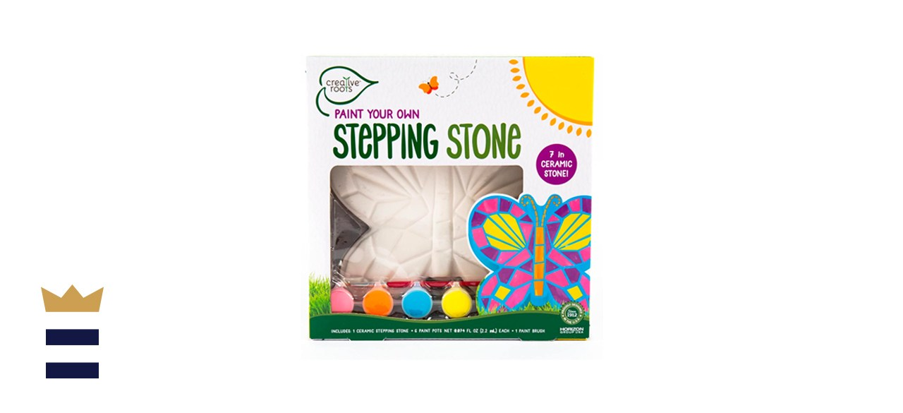 Creative Roots Paint Your Own Mosaic Butterfly Stepping Stone
