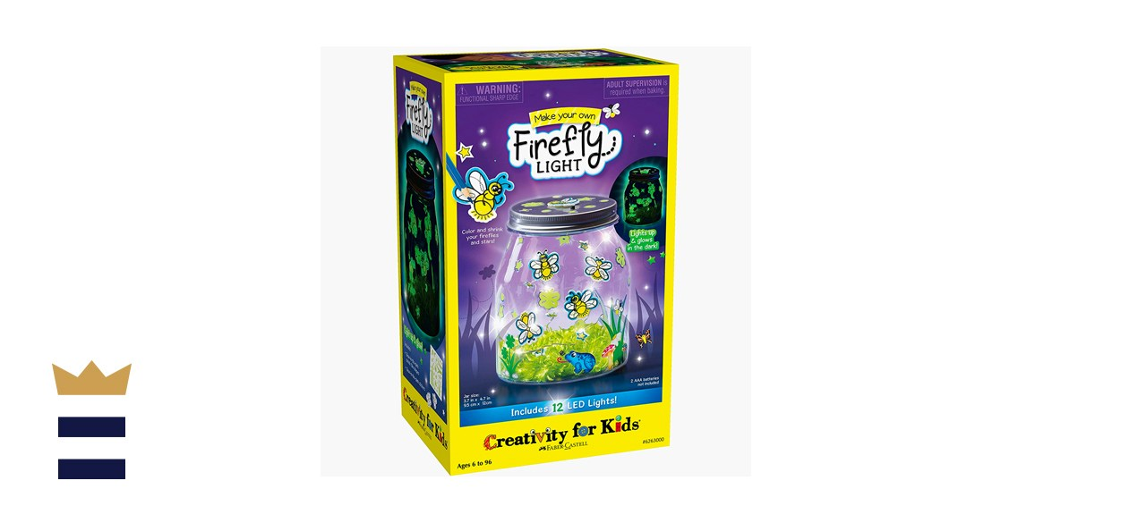 Creativity for Kids Make Your Own Firefly Light Craft Kit