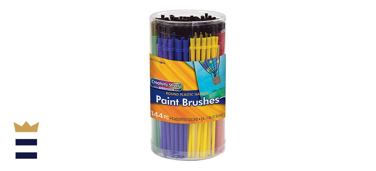 Creativity Street Round Brushes, Pack of 144