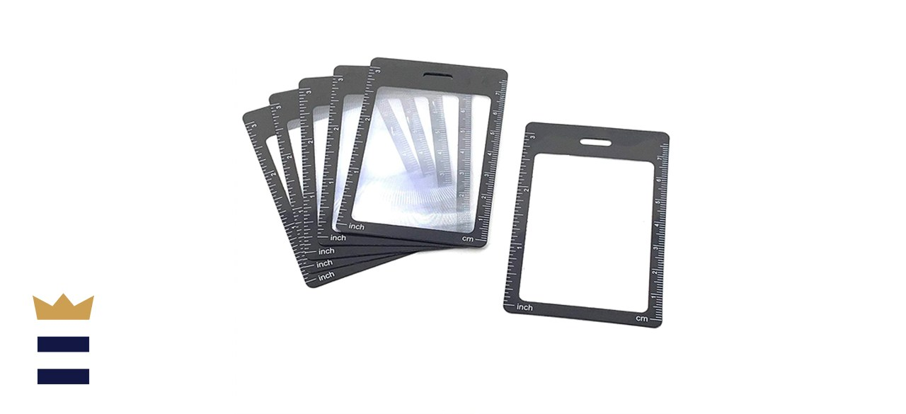 Credit Card Size 3X Magnifiers