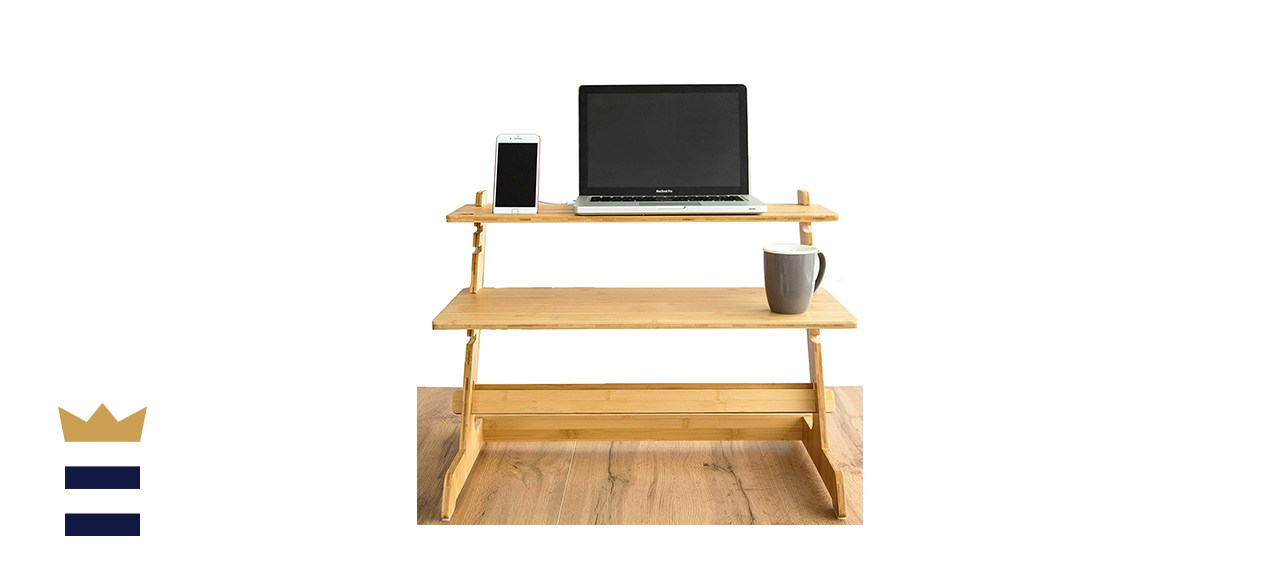Crew and Axel Standing Desk Converter
