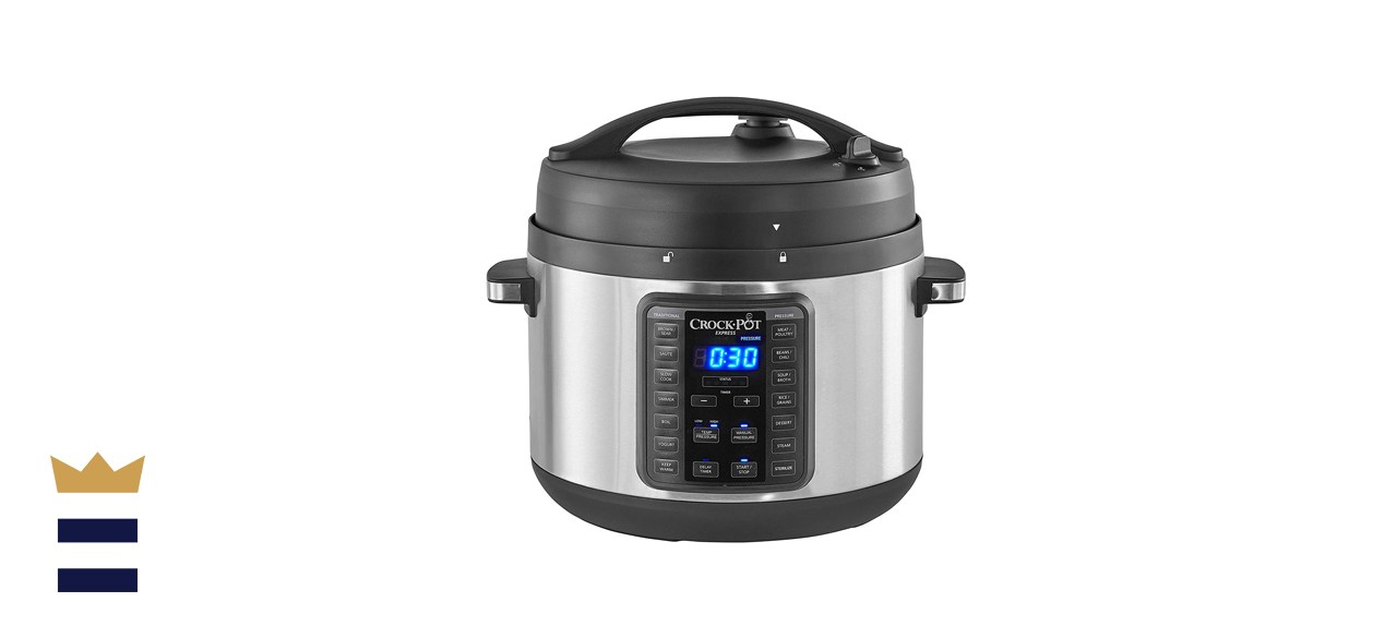 Crock-Pot 10-Qt. Express Crock Multi-Cooker with Easy Release Steam Dial