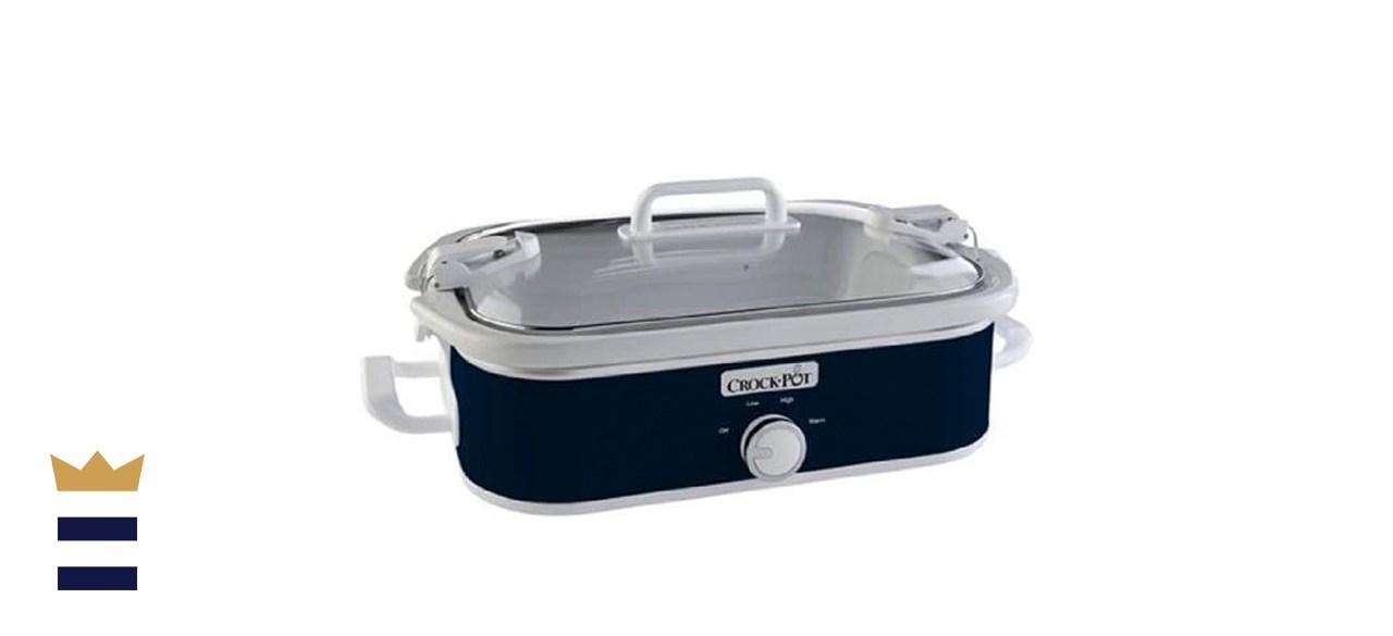 Crock-Pot 3.5-Quart Casserole Manual Slow Cooker