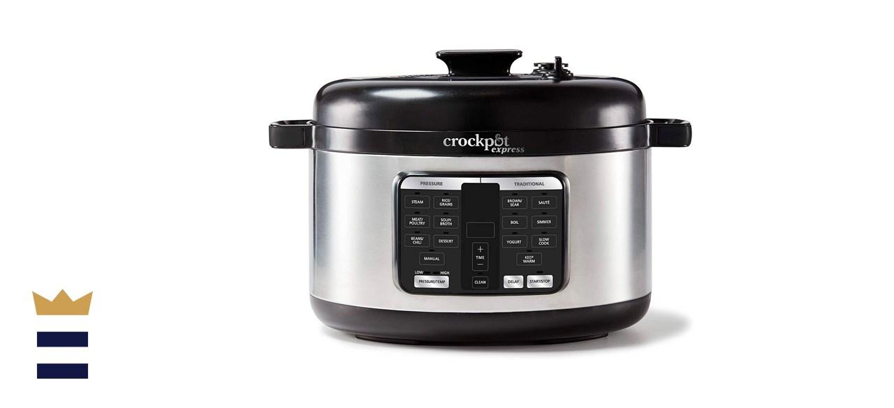 Crock-Pot 6-Quart, Stainless Steel Express Pressure Cooker