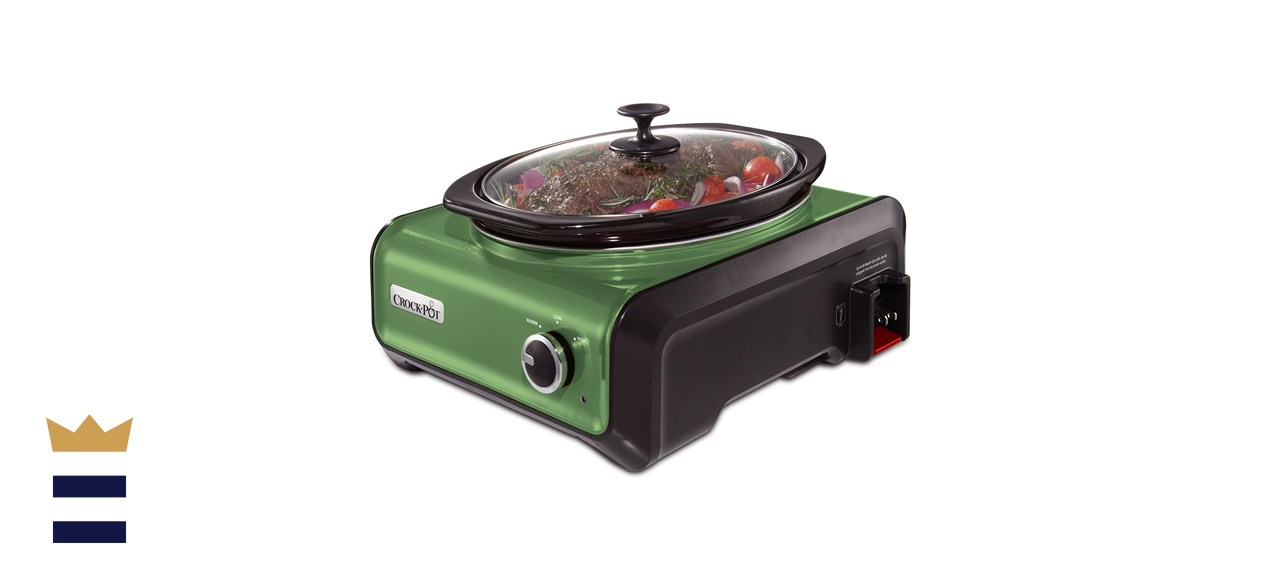 Crock-Pot Hook Up Oval Connectable Entertaining System