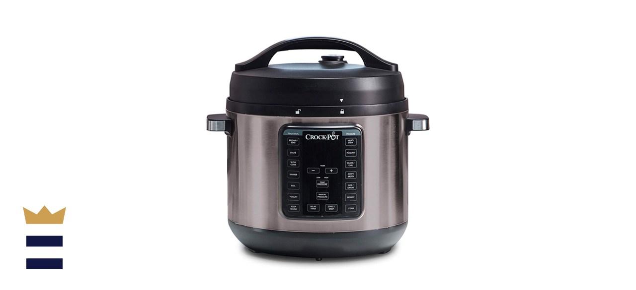 Crock-Pot Pot 8-Quart Multi-Use XL Express Crock Programmable Slow Cooker with Manual Pressure