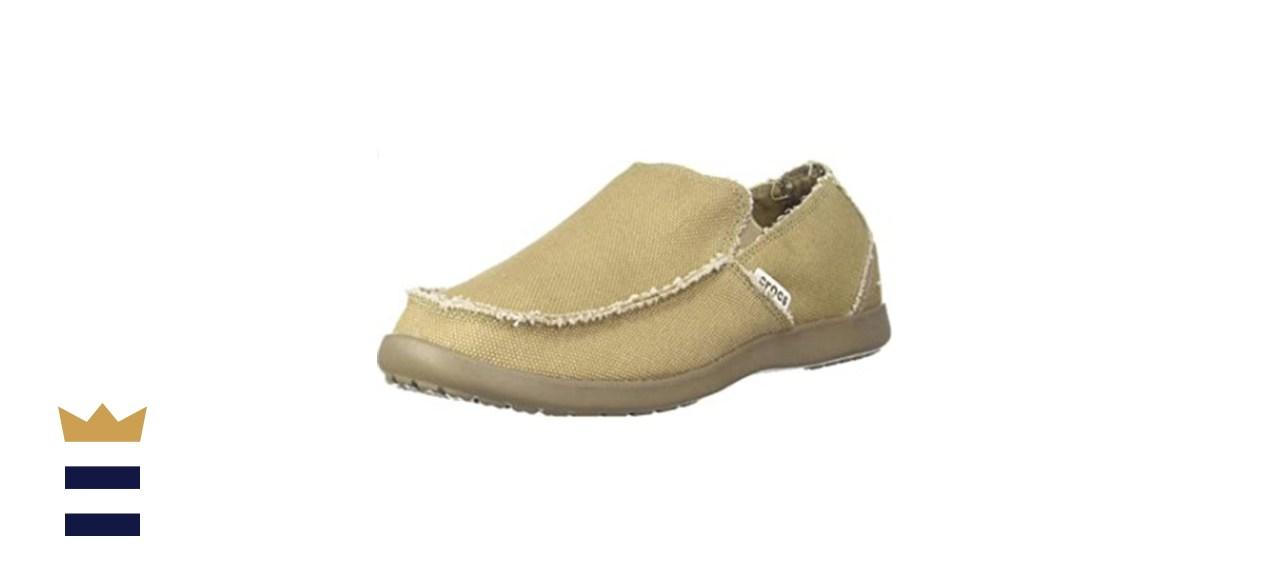 Crocs Santa Cruz Slip-On Comfort Loafers