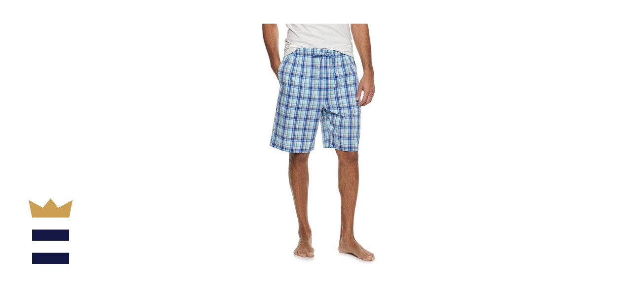 Croft & Barrow Stretch Woven Pajama Short
