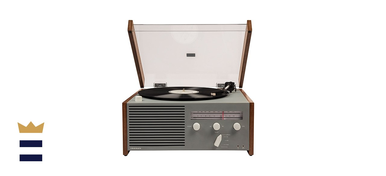 Crosley CR6033A-GY Otto Belt-Drive Turntable