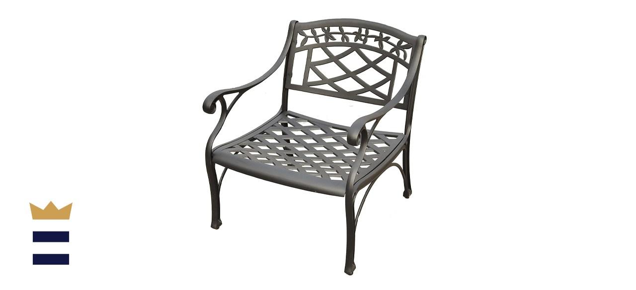 Crosley Furniture Sedona Solid-Cast Aluminum Outdoor Club Chair