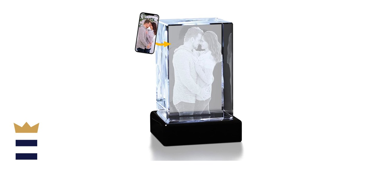 Crystal Impressions 3D Crystal Photo Gift