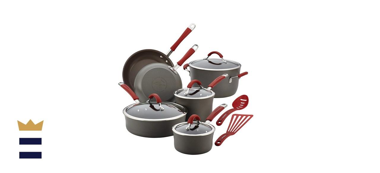 Cucina Hard-Anodized 12-Piece Cookware Set