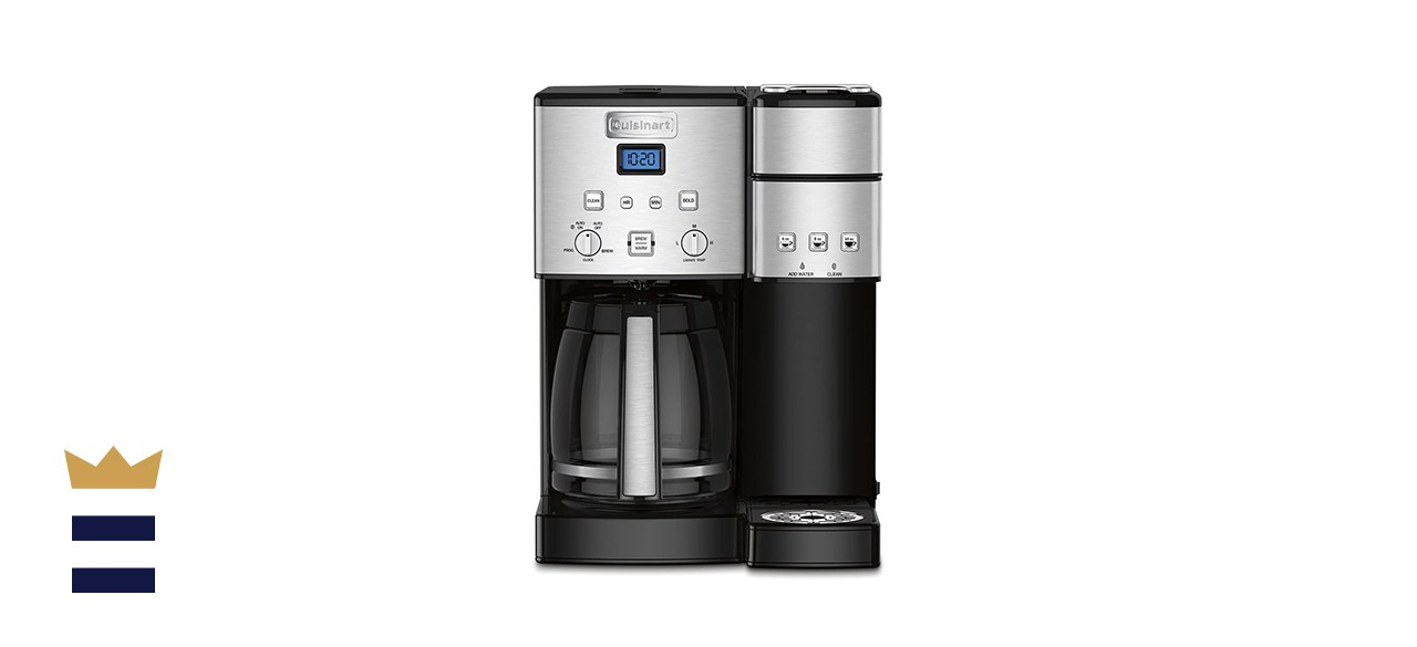 Cuisinart 12-Cup Coffee Maker and Single-Serve Brewer