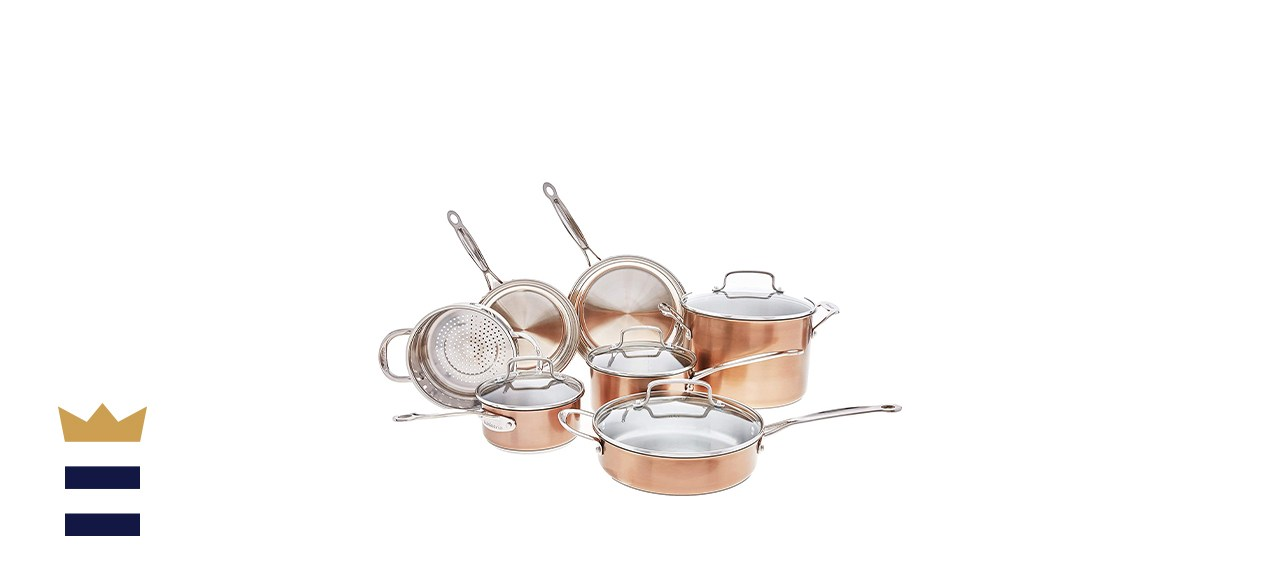 Cuisinart Chef's Classic Copper Stainless Steel Set
