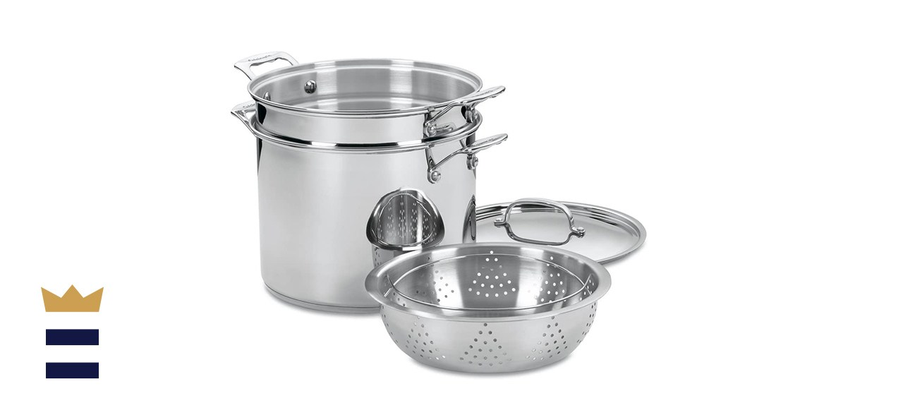 Cuisinart Chef's Classic Stainless Steel Pasta/Steamer Set