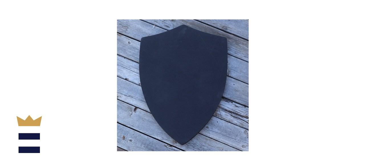 Customizable Blank Matte Black Foam Shield