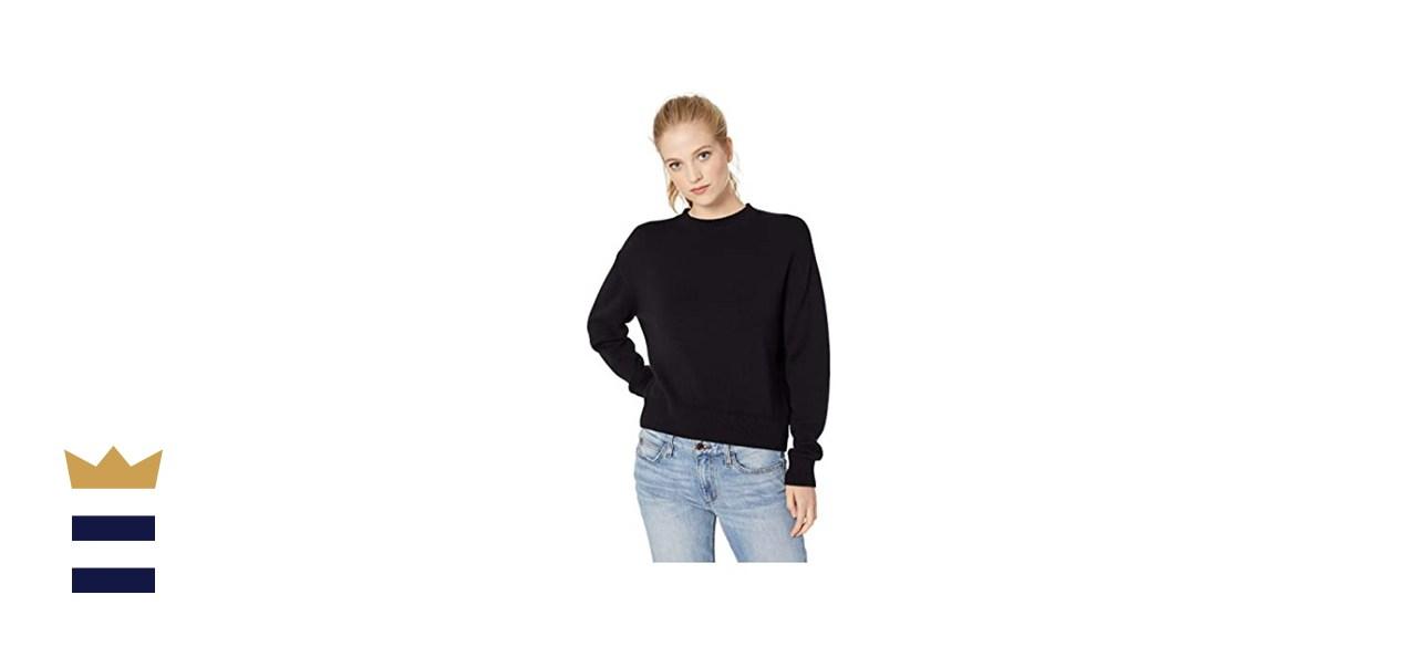 Daily Ritual Long-Sleeve Crewneck Sweater