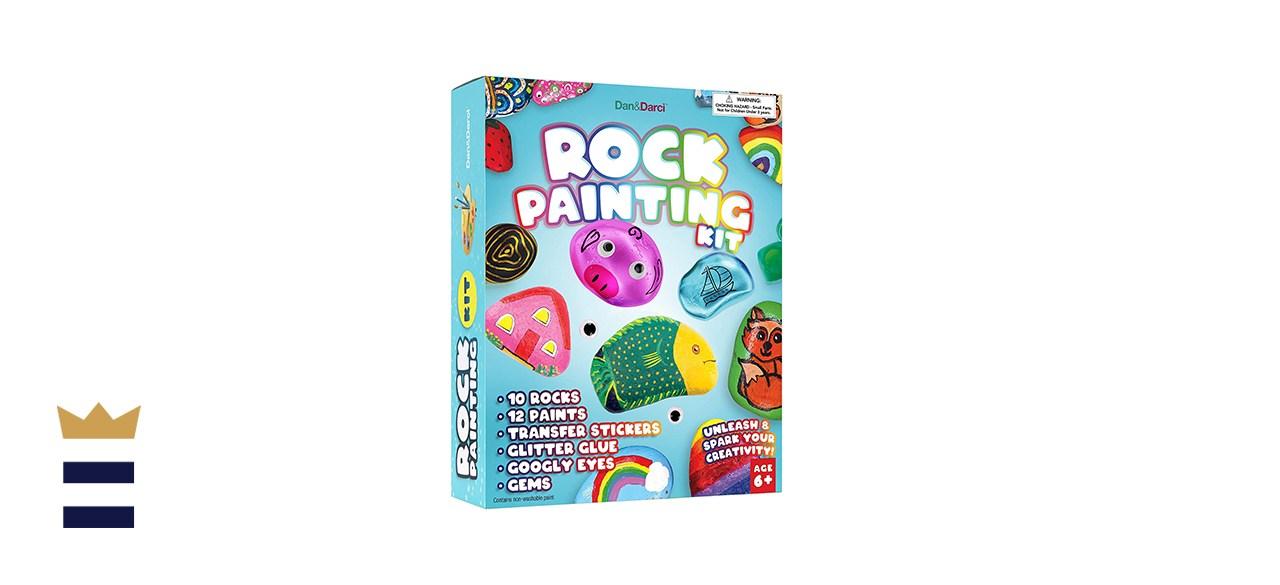 Dan & Darci Rock Painting Kit for Kids
