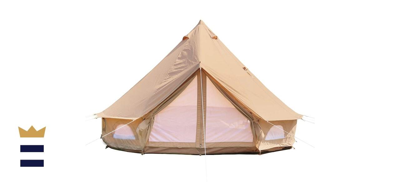 Danchel Outdoor Cotton Canvas Yurt Tent