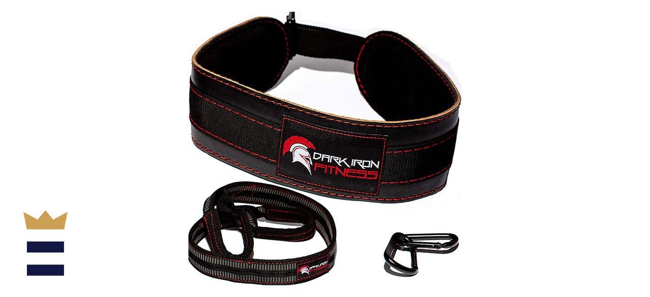Dark Iron Fitness' Leather Dip Belt