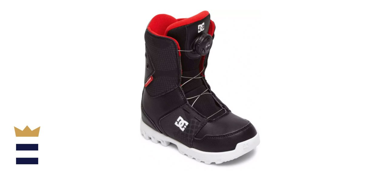 DC Youth Scout BOA Snowboarding Boots