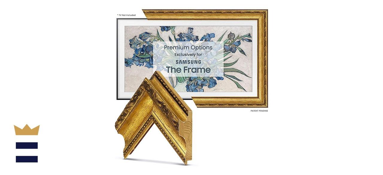 Deco TV Frames Ornate Gold Frame
