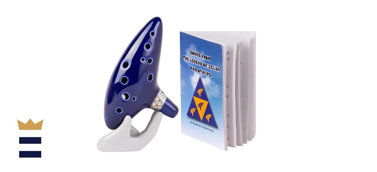 Deekec Zelda Ocarina 12 Hole Alto C with Song Book