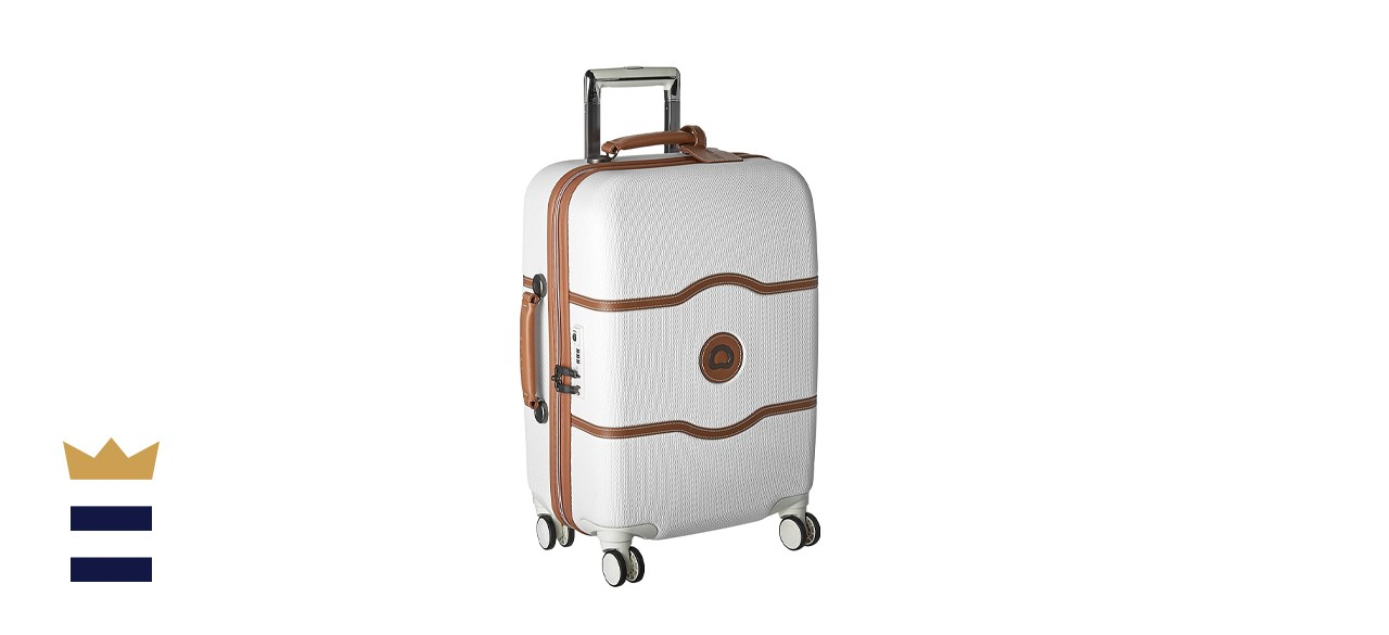 Delsey Paris Carry On Hardside Suitcase