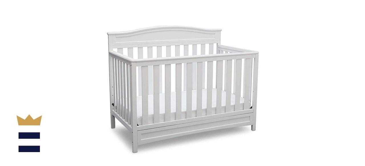 Delta Children Emery Deluxe 4-in-1 Convertible Baby Crib