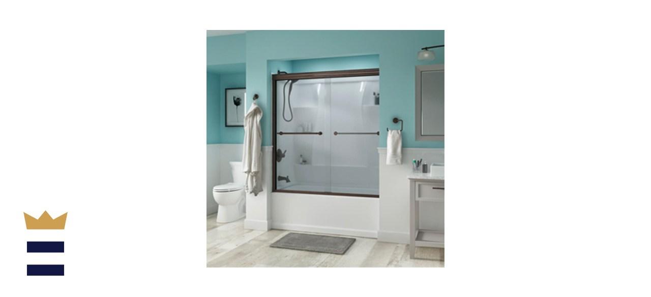 Delta Trinsic 60-Inch Semi-Frameless Sliding Bathtub Door SD3927410