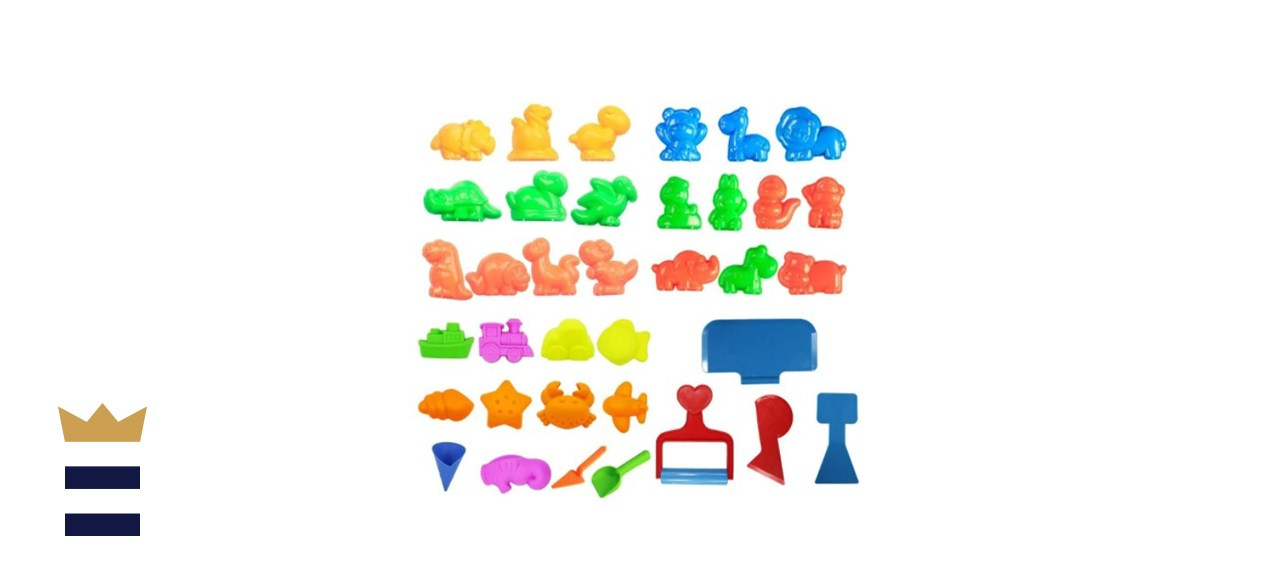 Deluxe Beach Sand Mold And Tools Play Set