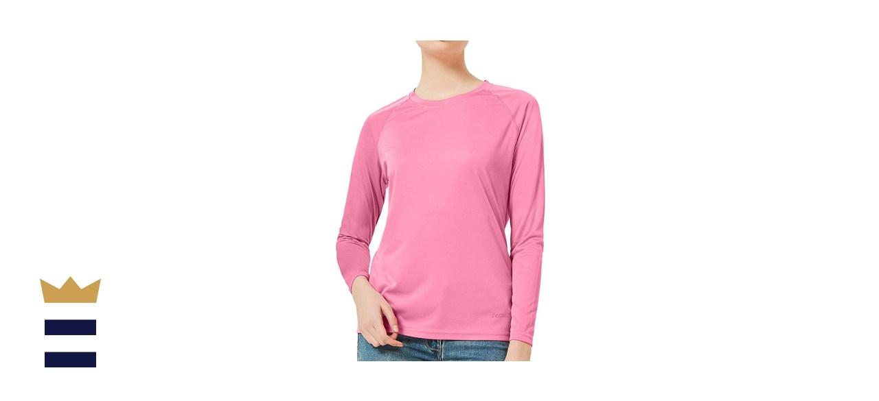 DEMOZU Women's UPF 50+ Sun Protection Long Sleeve Shirt