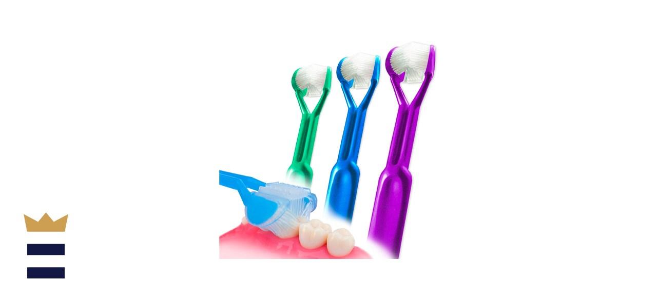 DenTrust 3-Sided Toothbrush