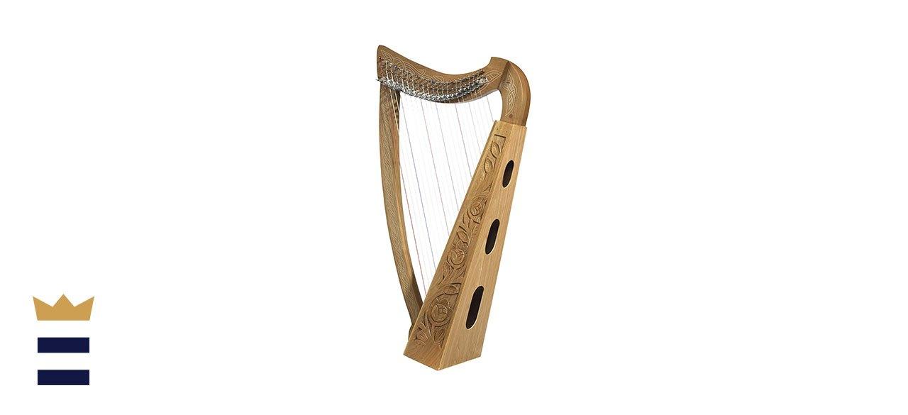 Design Toscano Celtic Heather Harp