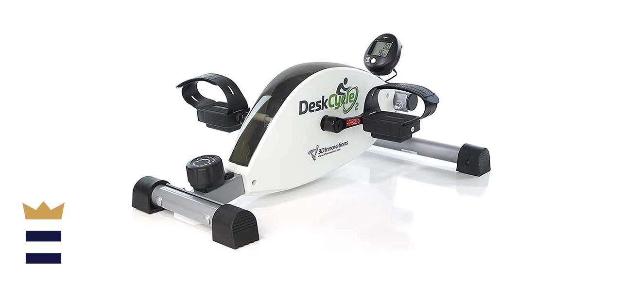 DeskCycle 2 Under Desk Bike Pedal Exerciser with Adjustable Leg