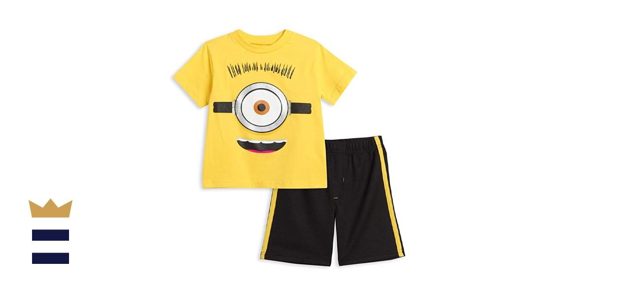 Despicable Me Minions Graphic T-Shirt & Shorts Set