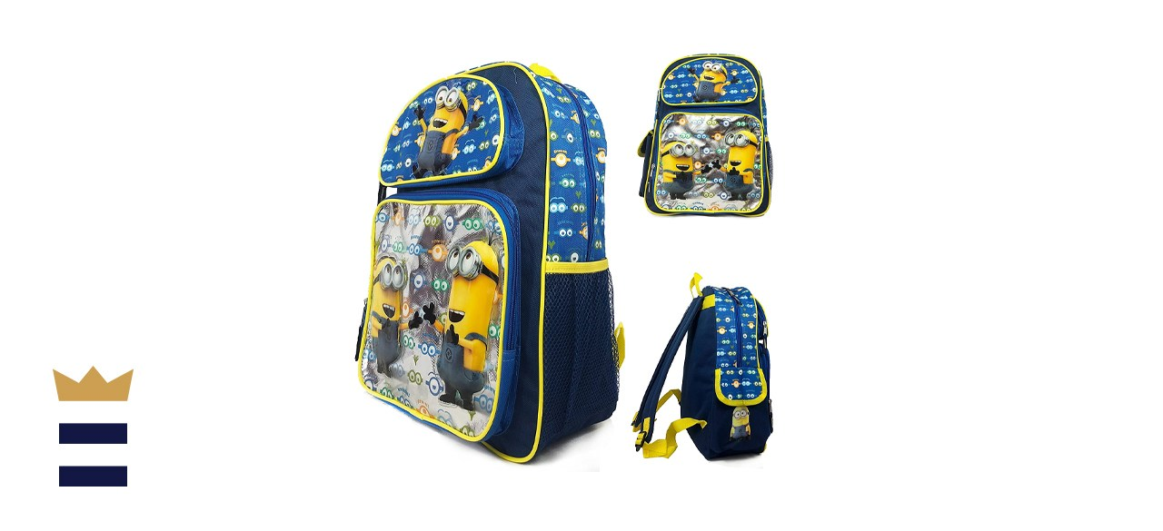 Despicable Me Minions Look At You Backpack
