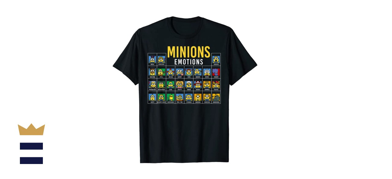 Despicable Me Minions Periodic Table Of Minions Graphic T-Shirt