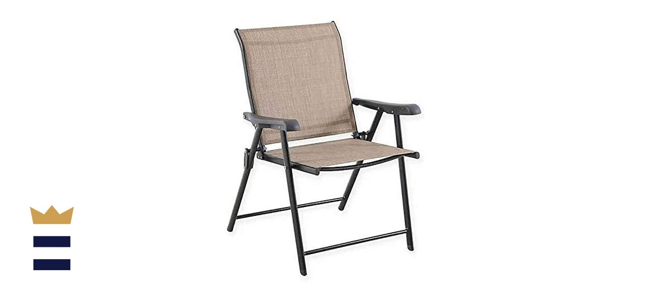 Destination Summer Never Rust Outdoor Aluminum Folding Sling Chair