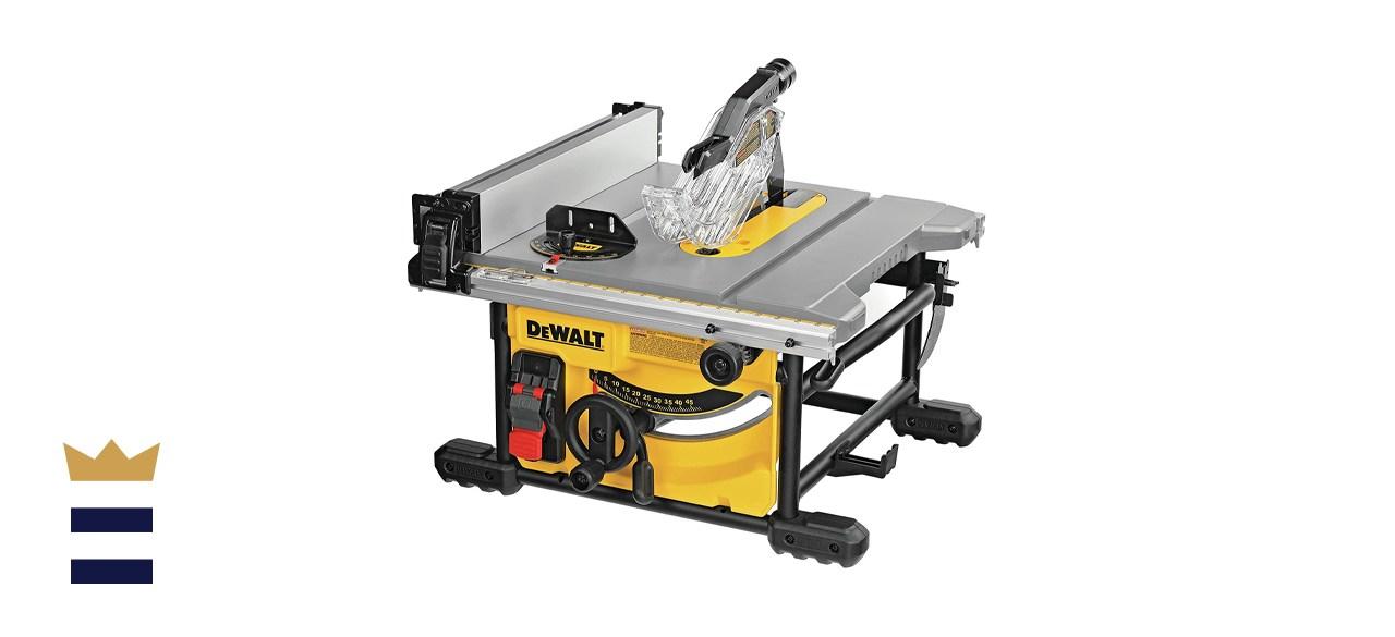 DeWALT 8 1/4-Inch Compact Jobsite Table Saw