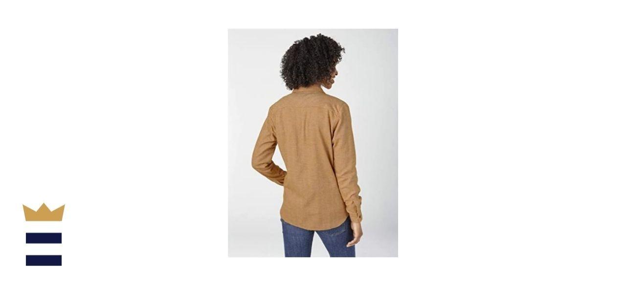 Dickies Long-Sleeve Plaid Flannel Shirt