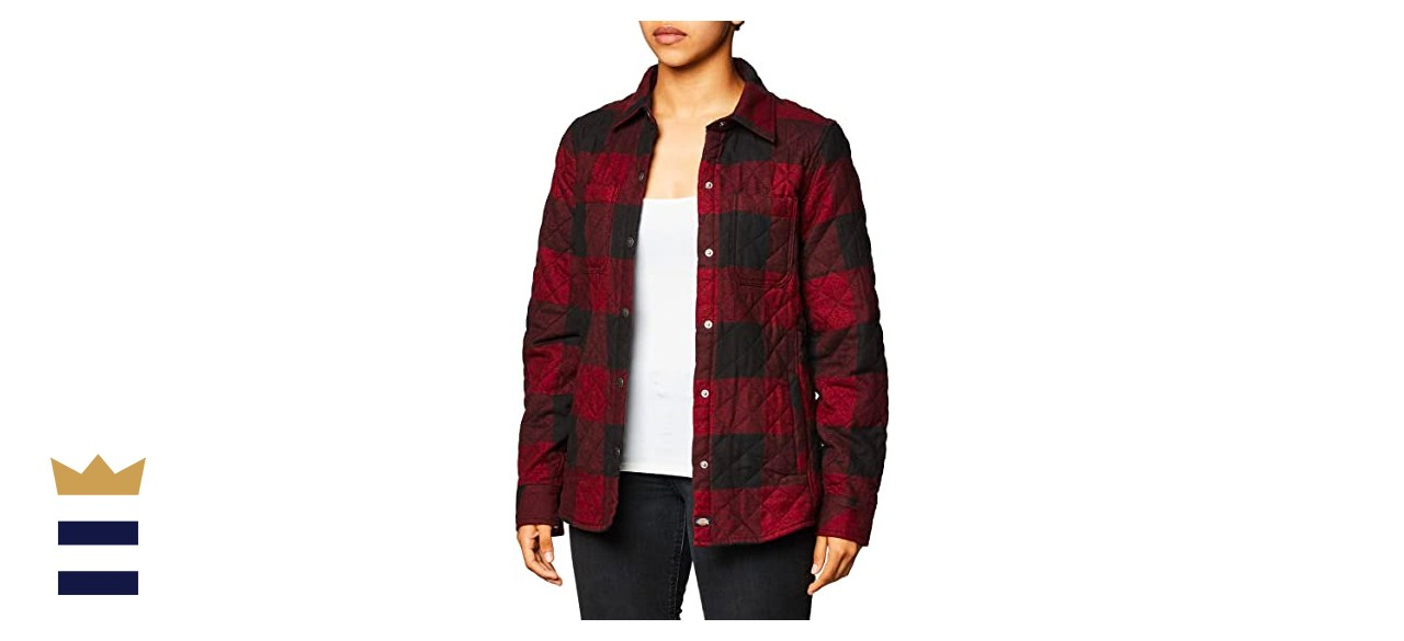 Dickies Quilted Flannel Shirt Jacket