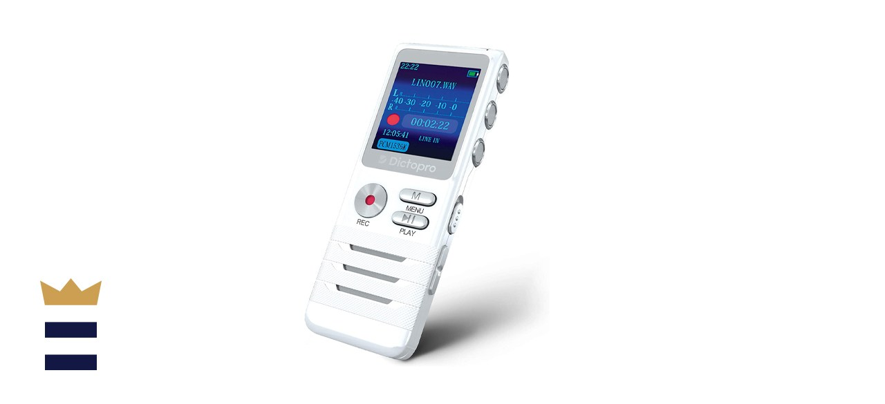 Dictopro Digital Voice-Activated Recorder