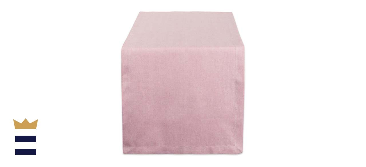 DII 100% Cotton Chambray Tablecloth