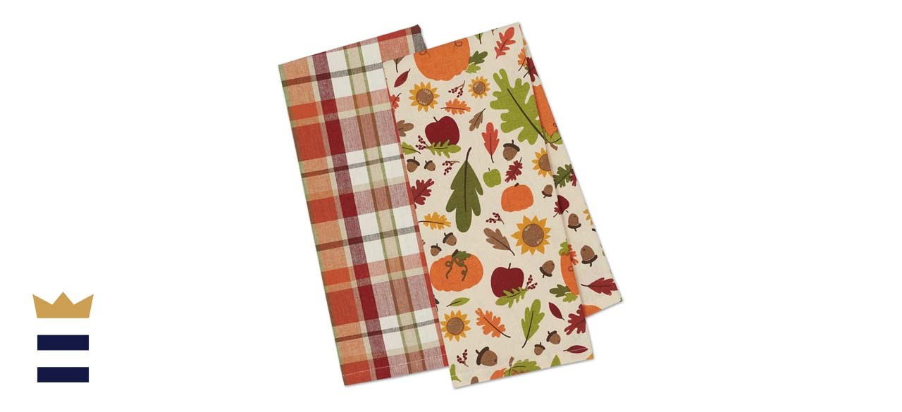 DII Cotton Fall Dish Towels