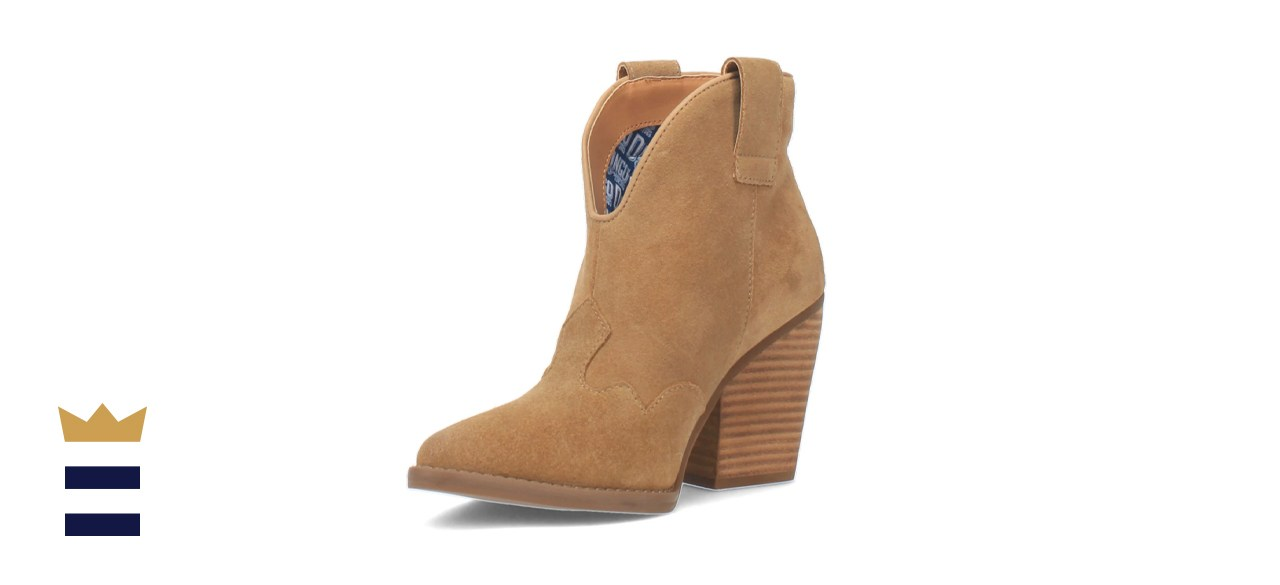 Dingo Women's Flannie Leather Bootie