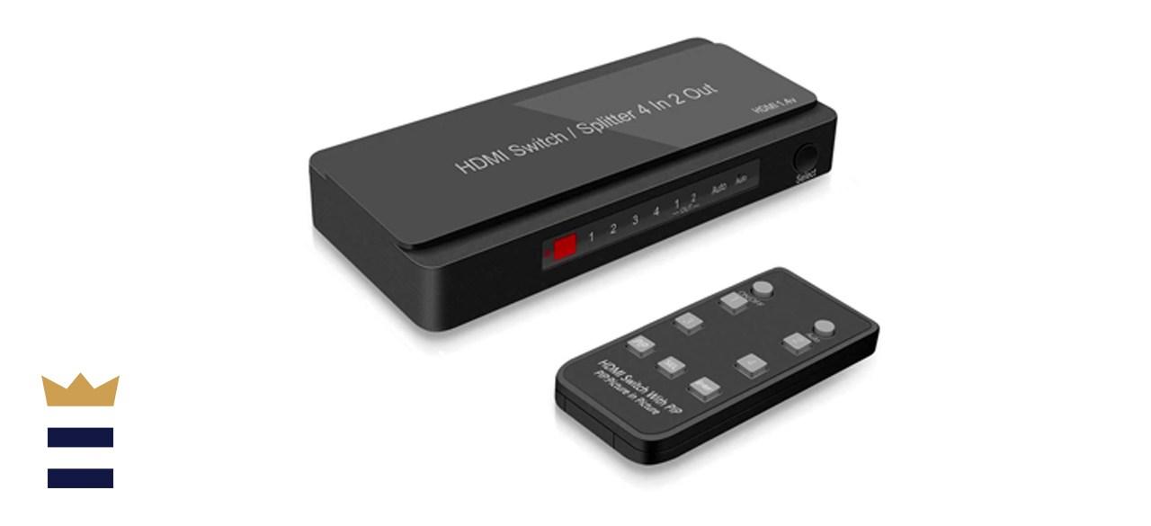 Dingsun 4-Port HDMI Switcher