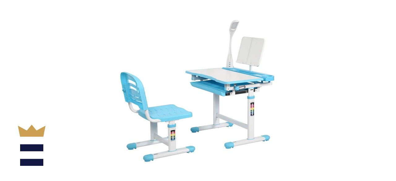 Diroan Kids' Functional Desk and Chair Set
