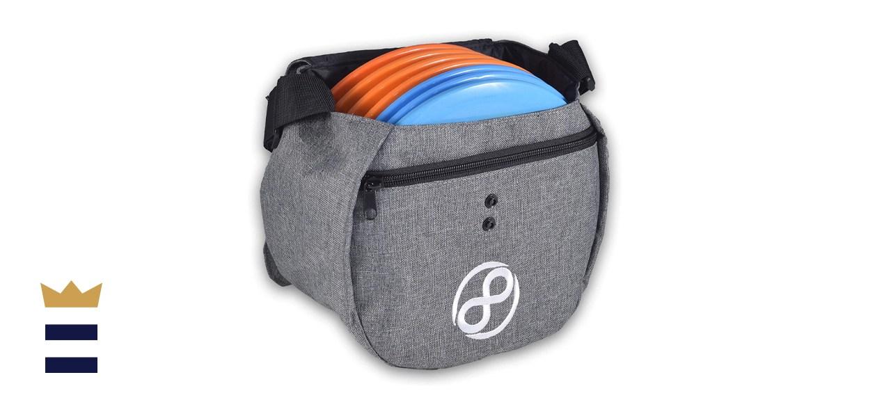 Easy Bag - Disc Golf Starter Bag Holds 8 to 10 Discs
