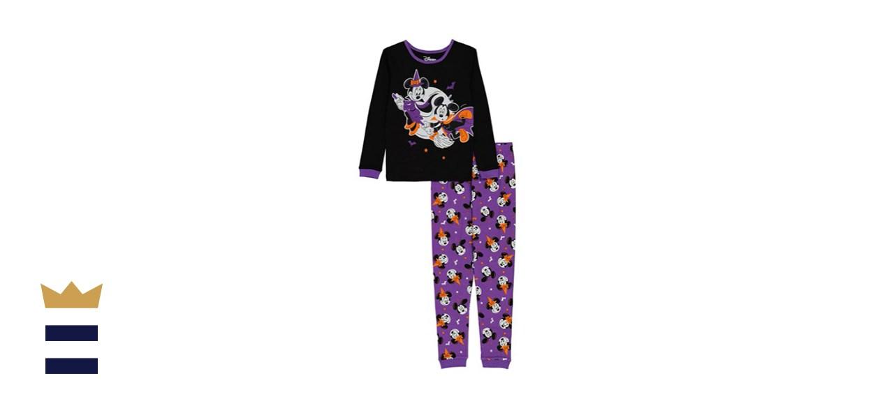 Disney Kids' Minnie and Mickey Cotton Pajamas